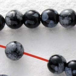 Schneeflocken Obsidian Mini...