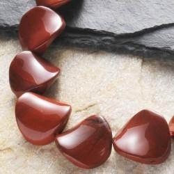 Rote Jaspis Steinperlen...