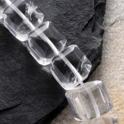 Bergkristall Steinperlen...
